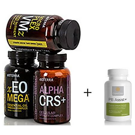 Doterra Lifelong Vitality Pack And Pb Assist Probiotics Walmartcom