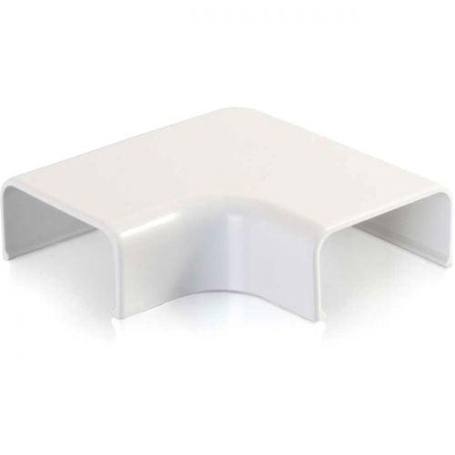 C2G Wiremold Uniduct 2900 9 Flat Elbow - White - image 1 de 1