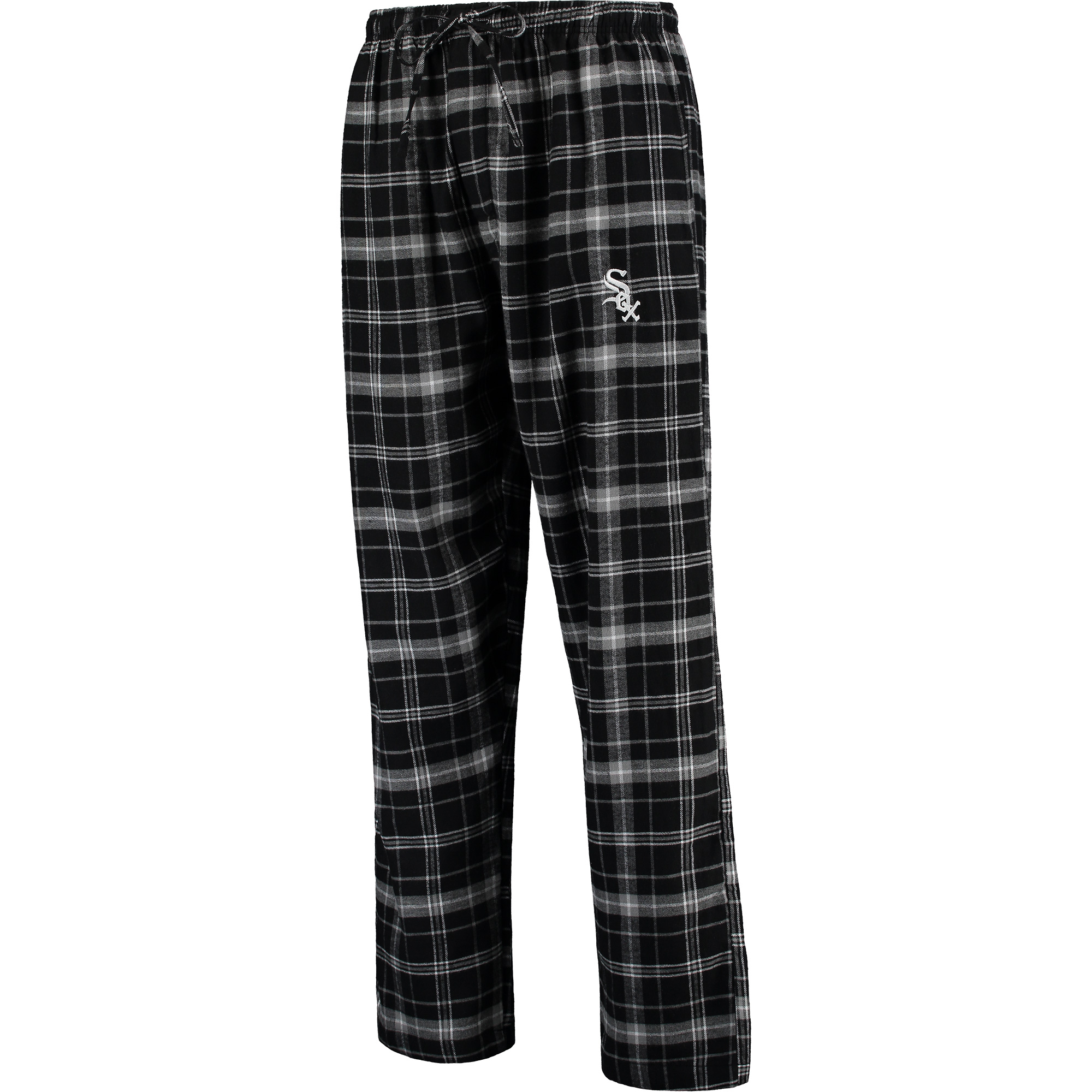 Chicago White Sox Concepts Sport Ultimate Plaid Flannel Pants - Black/Gray
