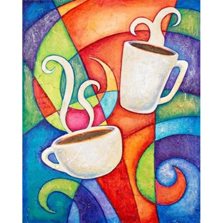 Coffee Date Poster Print by Christine Kerrick - 24 x 30 in. - image 1 de 1