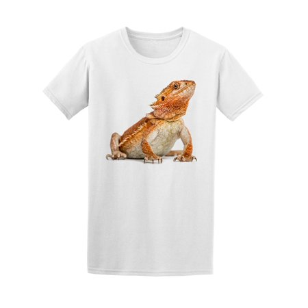 Bearded Dragon Sitting Tee Men's -Image by Shutterstock - Bearded Dragon Outfits