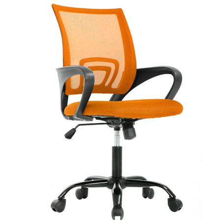 Ergonomic Office Chair Cheap Desk Chair Mesh Executive Computer Chair  Lumbar Support for Women&Men, Orange