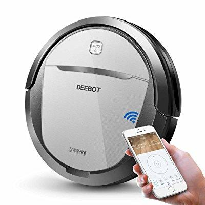 ecovacs deebot m80 pro robotic vacuum cleaner with mop an...
