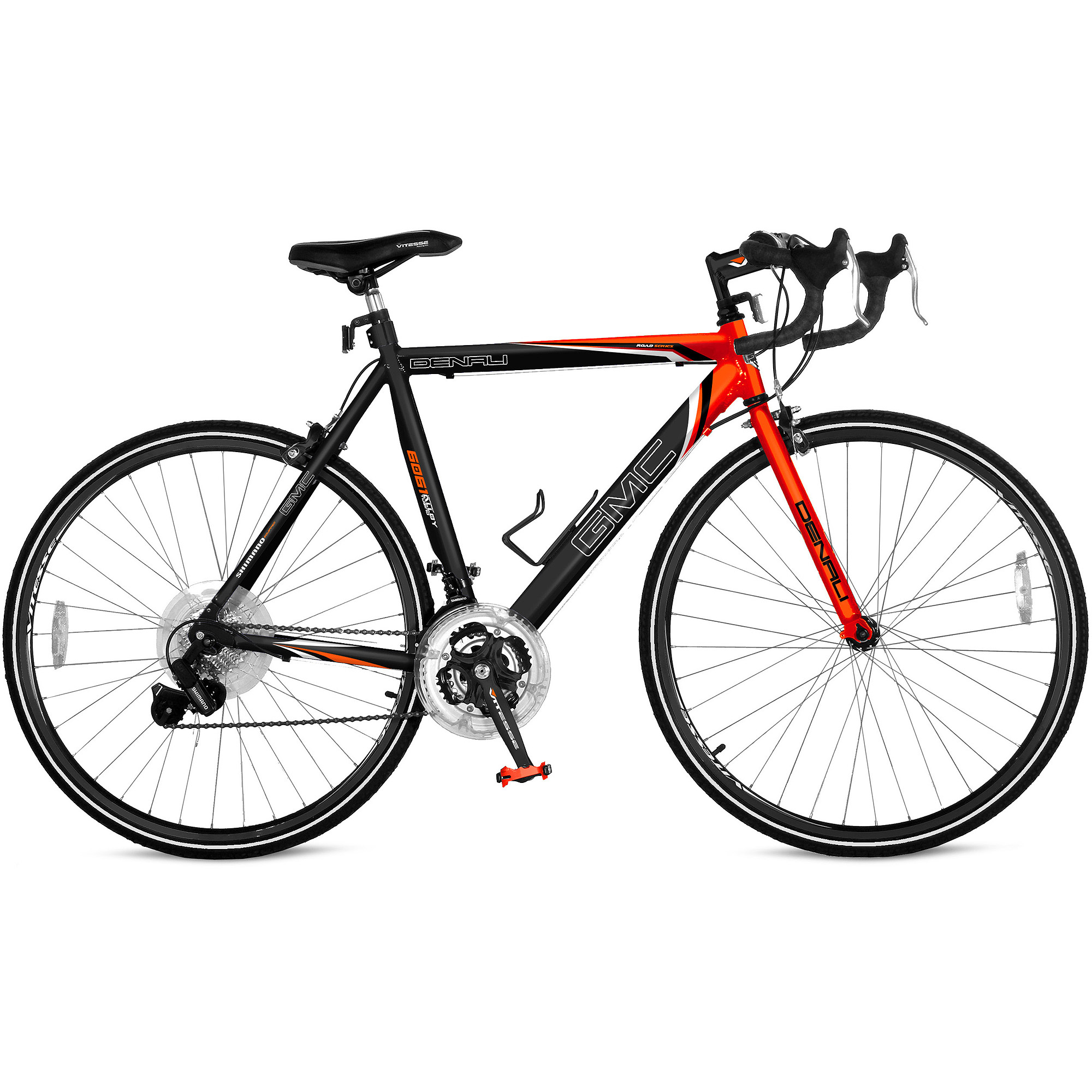 "25"" GMC Denali 700c Men's Road Bike, Orange"