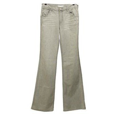 Jenny Jen Collection Boot Cut Womens Jeans Gray Size 25