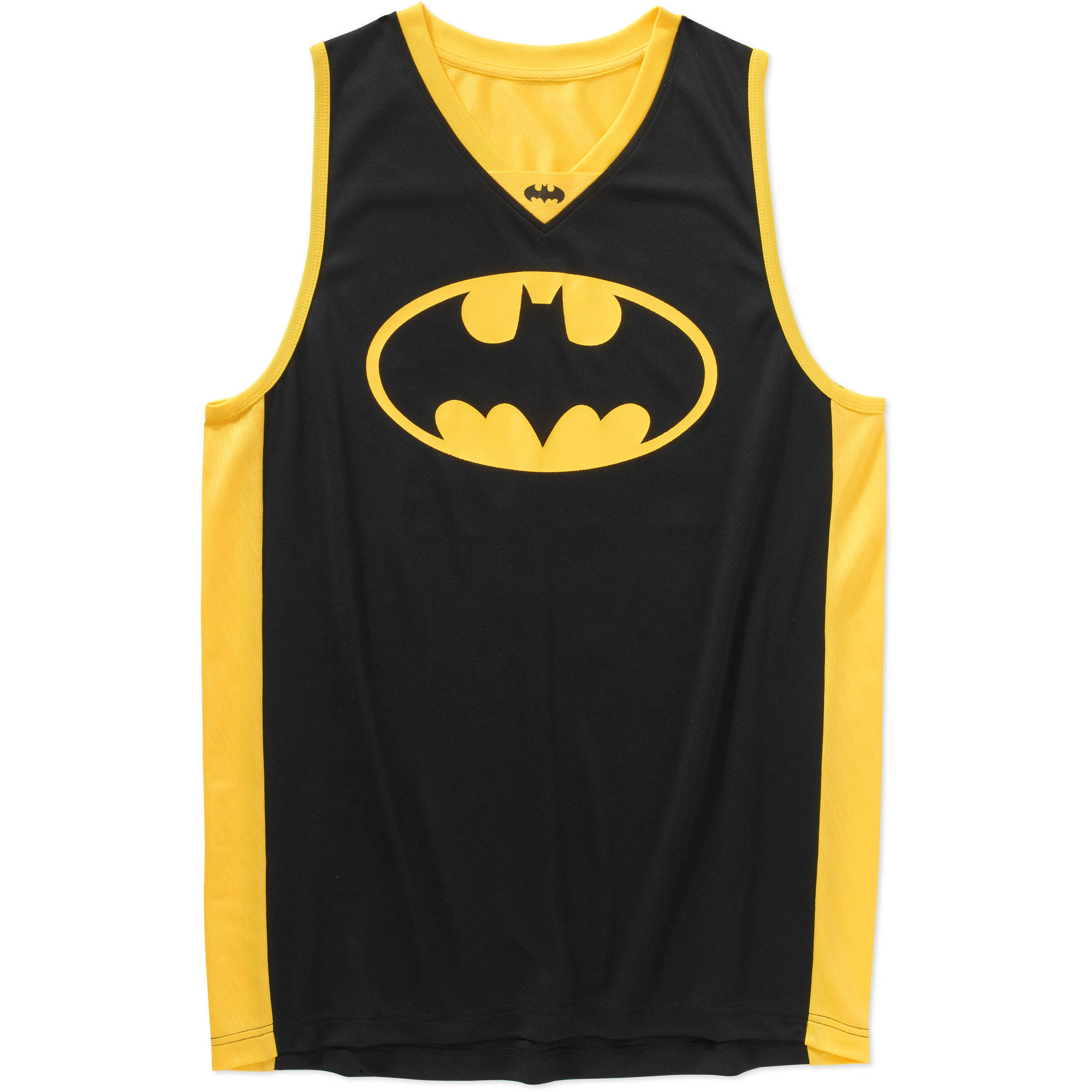 Batman Men's Graphic Licensed Basketball Jersey
