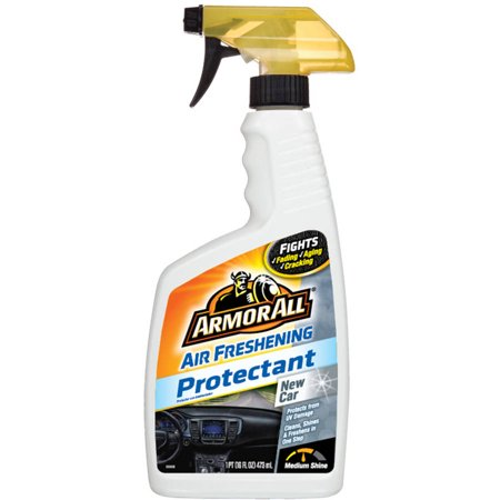 Armor All Air Freshening Protectant Spray With New Car Scent
