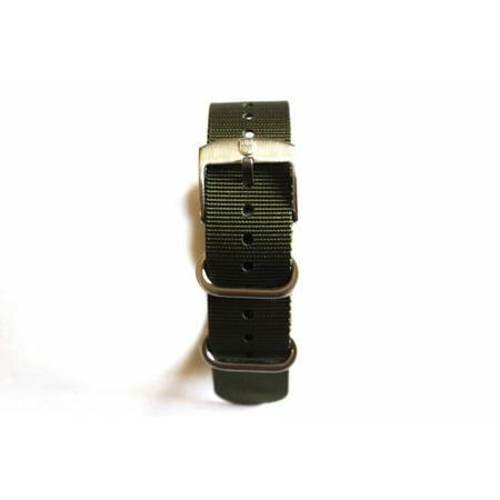 Genuine OEM Luminox 22mm Watch Strap Band - Military Green Fit Luminox 3050 3950 SEAL NAVY EVO COLORMARK