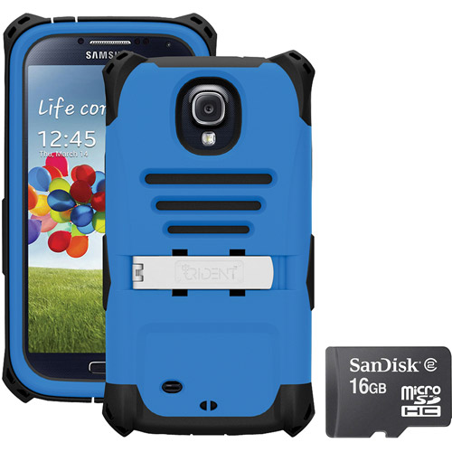Galaxy S4 Trident Protective case Blue