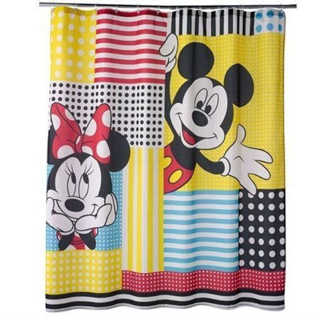 Mickey Mouse And Friends Firic Shower Curtain