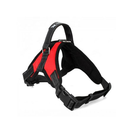 Topumt Pet Dog Harness Vest Collar Big Dog Soft Adjustable Harness Pet Large Dog Walk