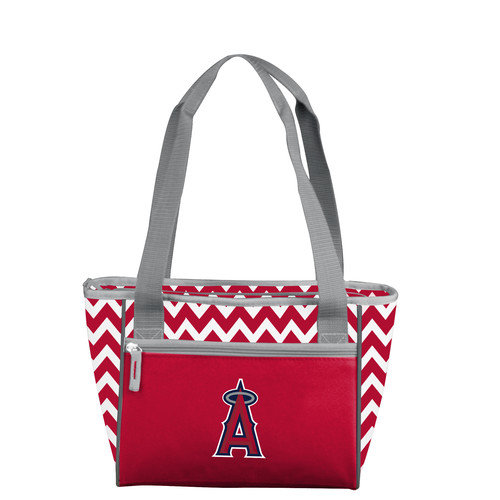 Los Angeles Angels Official MLB 16 Can Insulated Cooler Tote by Logo 034568