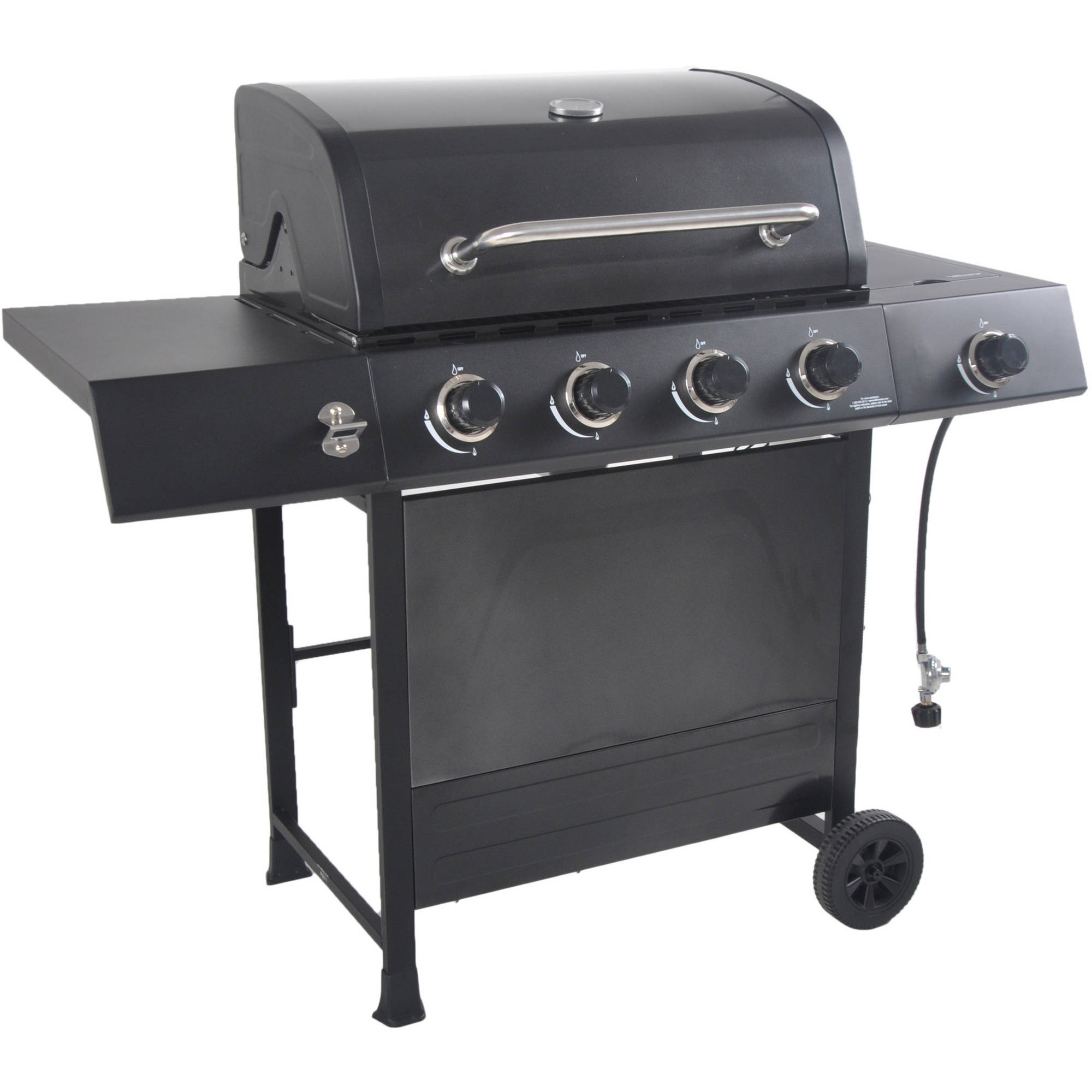 how to clean propane grill burners