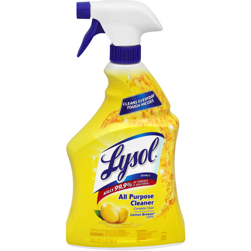 LYSOL All-Purpose Cleaner, Lemon Breeze, 32 Fl Oz
