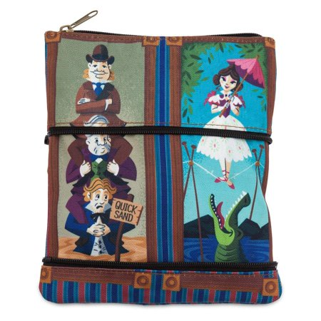 Disney Parks Stretch Paintings Haunted Mansion Zip Pouch New with Tags - Disney Park Halloween Treats
