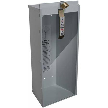 Sandusky Buddy 5 lb Steel Industrial Grade Fire Extinguisher Cabinet, White