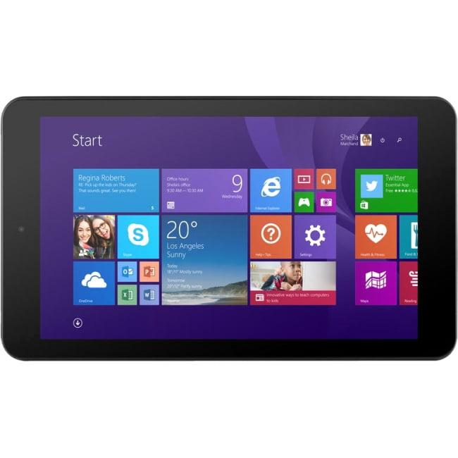 "Ematic EWT900BL 16 GB Net-tablet PC - 8.9"" - In-plane Switching (IPS) Technology - Wireless LAN - Intel Atom"