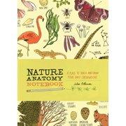 Nature Anatomy Notebook - Paperback