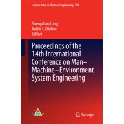 Proceedings of the 14th International Conference on Man-Machine-Environment System Engineering - eBook