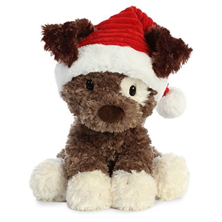 "Aurora World 15"" Holiday Puppies Buster, Brown, White, Ted - image 1 of 1"