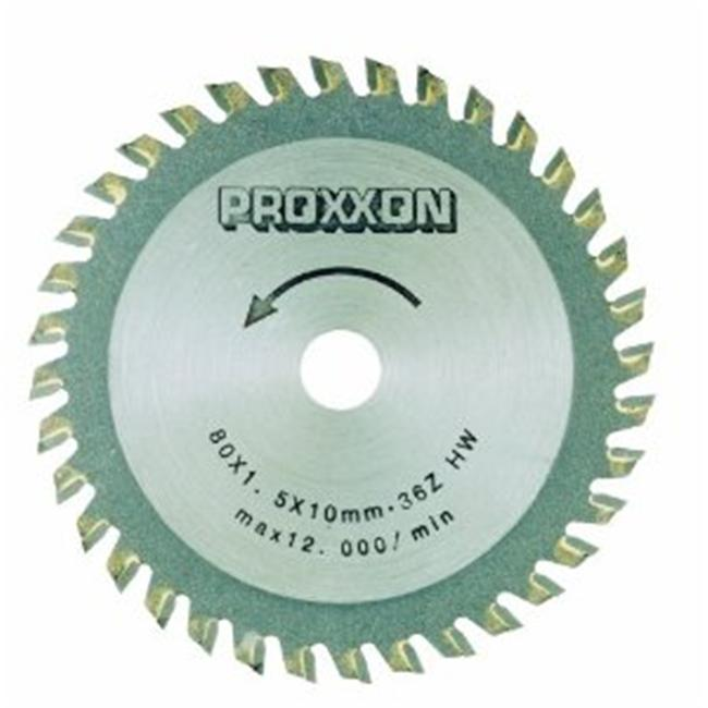 Prox Tech 28732 Carbide tipped saw blade  3. 14 inch  - 85 mm 36 teeth