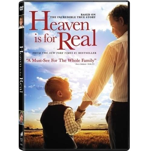 HEAVEN IS FOR REAL (DVD/ULTRAVIOLET/WS 2.40/2 DISC/DD5.1/ENG)