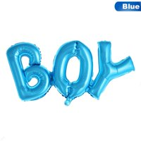 AkoaDa Boy Girl Connection Letter Foil Balloons Children Party Decoration Birthday Party Balloons Helium Balloon Baby Shower