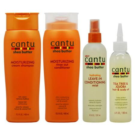Cantu Beauty Cantu Moisturizing Hair & Scalp Care 4-piece Set ()