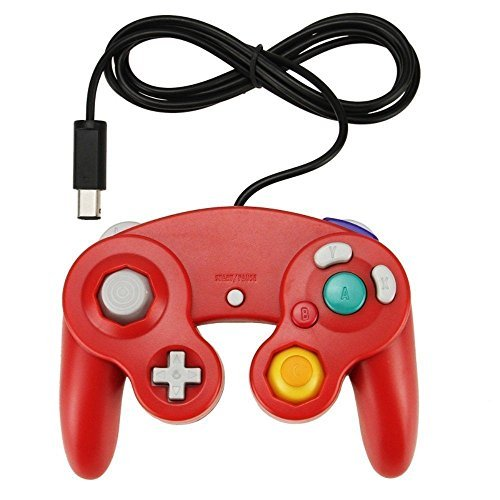 Red Game Controller Pad For Nintendo GameCube GC Wii