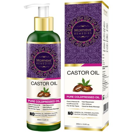 Morpheme Remedies Pure Cold Pressed Castor Oil For Hair & Skin Care,