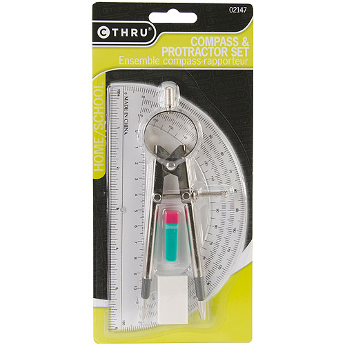 Acme Compass and Protractor Set