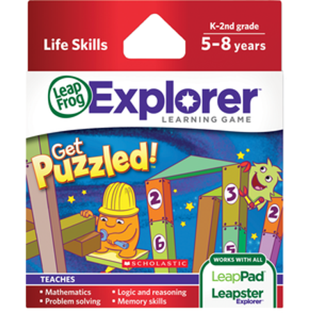 LeapPad Game: Scholastic Get Puzzled - PT -  39095](Get Ready For Halloween Game)