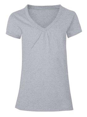 4be20fa010 Product Image Girls  Shirred V-Neck T-shirt