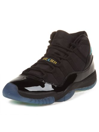 Nike Mens Air Jordan 11 Retro Black/Gamma Blu…