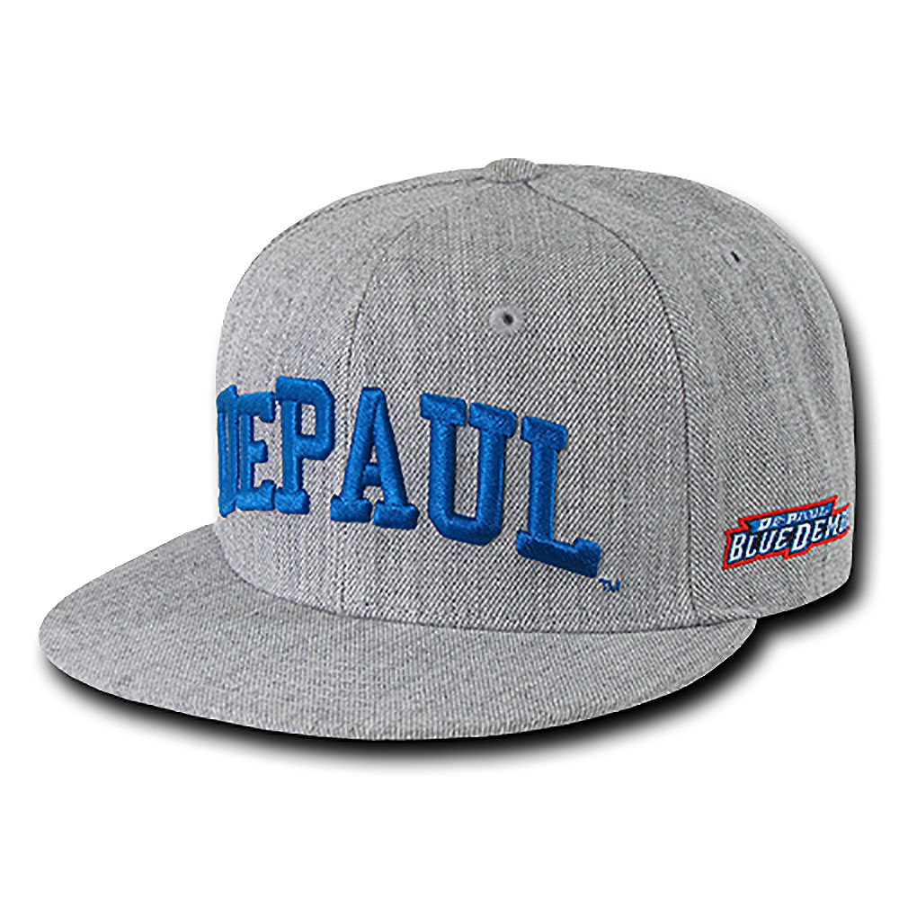 DePaul University Blue Demons Game Day Fitted Hat (Gray)