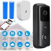 Video Doorbell, iFanze Smart Wifi Camera Doorbell, Home Wireless 1080P Video Doorbell with Chime