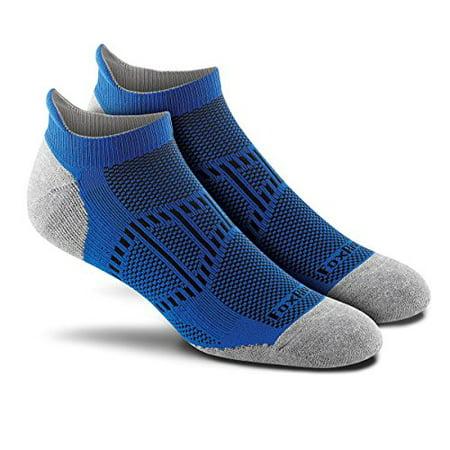 Ankle Tab (Fox River Men's Verso Ankle Tab No-Show Sock 3 Pack (Blue, Medium))