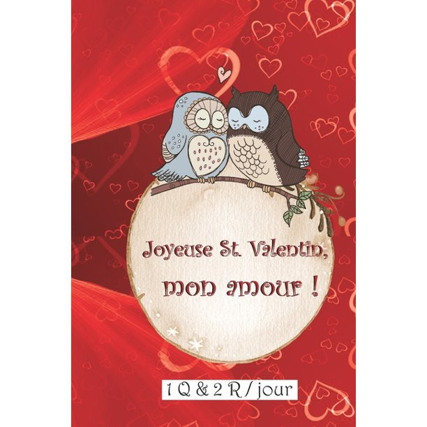 Joyeuse St Valentin Mon Amour 1 Q 2 R Par Jour Ce Cadeau Pour La