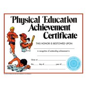 CERTIFICATE PHYSICAL EDUCATION 30PK