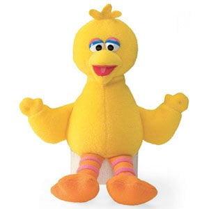 Sesame Street Beanbag Doll - Big Bird ()