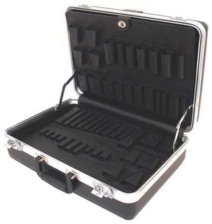 Platt Tool Case, Heavy Duty, Polyethylene, Black, 600T-CB