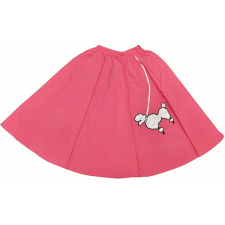 Pink Poodle Skirt Child Halloween Costume](Poodle Skirt Kids)