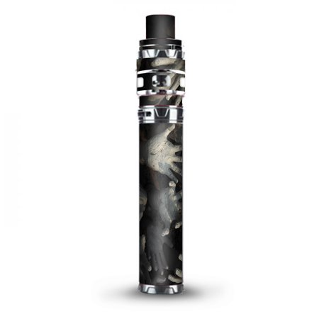 Skin Decal Vinyl Wrap for Smok Stick Prince Kit TFV12 Prince Vape Kit skins stickers cover / zombie hands dead trapped - Zombie Hands