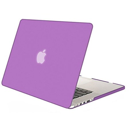 pretty nice 563be 168c1 Mosiso MacBook Pro 13 Retina Case (No CD-ROM Drive), Ultra Slim Soft-Touch  See Through Plastic Hard Shell Cover for MacBook Pro 13.3