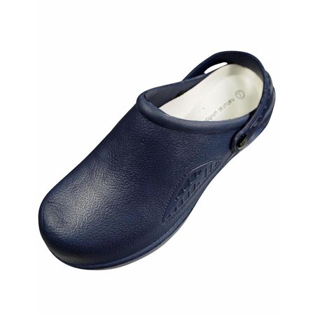 Anywear Lightweight Clogs - Natural Uniforms - Womens Lightweight Comfortable Nurse/Nursing Clogs BLUE / 8 B(M) US