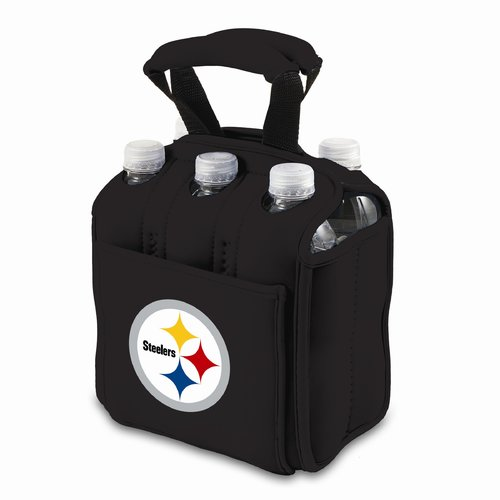 Picnic Time Six Pack, Blk Pittsburgh Steelers Digital Print