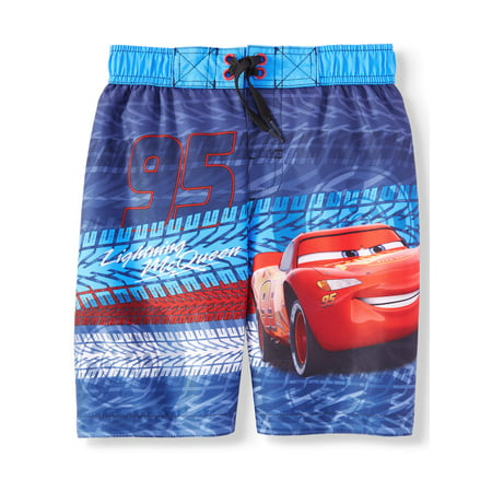 Lightning McQueen Swim Trunk (Little Boys) (Fishing Swim Trunks)
