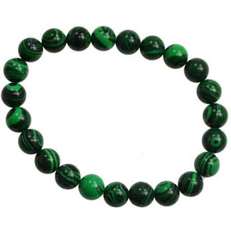RBI Jewelry Spiritual Supplies 8mm Prayer Malachite Bracelet