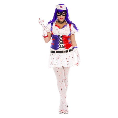 Hot Mess Harley Adult Costume - Plus Size 3X/4X