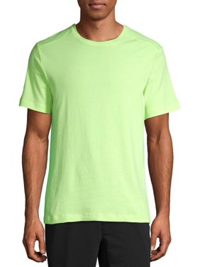 Athletic Works Men's and Big Men's Tri Blend Active Tee, up to 5XL